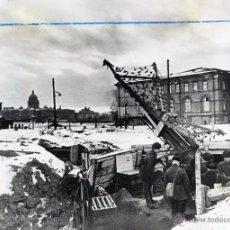 Fotografía antigua: BORIS KUDOYAROV. SITIO DE LENINGRADO. 1942. SOVIETICA. SEGUNDA GUERRA MUNDIAL. ORIGINAL. Lote 39696575