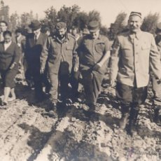 Fotografía antigua: KORDA. II VIAJE DE FIDEL CASTRO A LA UNION SOVIETICA. ORIGINAL. Lote 39696591