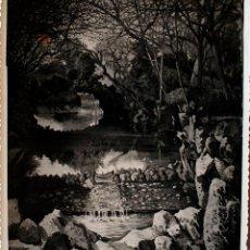 Fotografía antigua: FOTOGRAFÍA DE UNA OBRA DEL PINTOR CARLOS CANUT, FIRMADA Y DEDICADA, 1950 . Lote 39712690