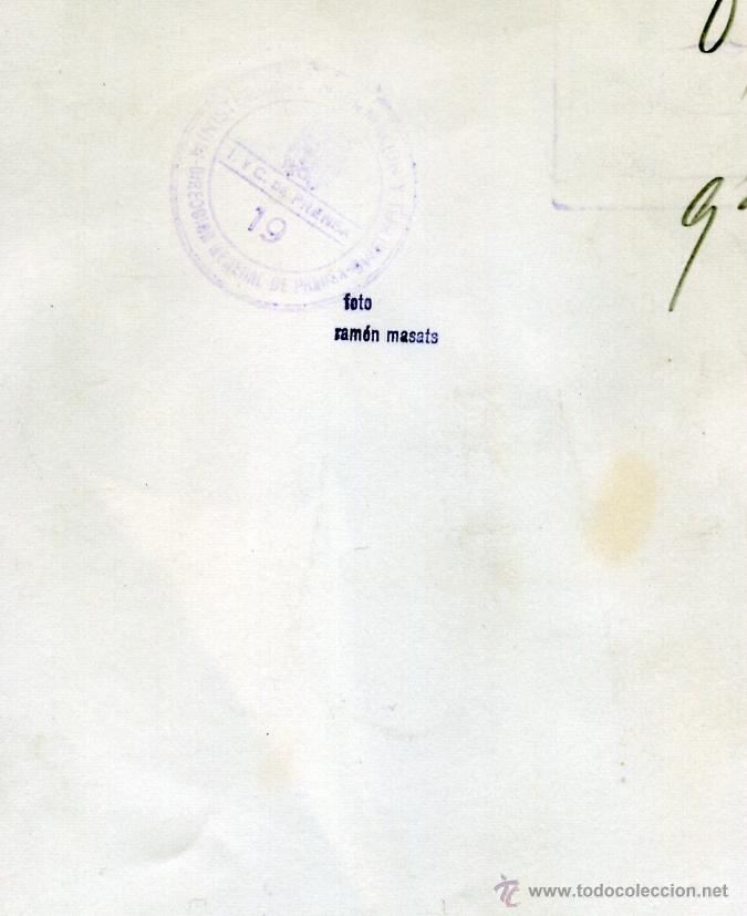 Fotografía antigua: RAMON MASATS. LA ACTRIZ JANE RUSSELL EN SU VISITA A ESPAÑA. 1961 ORIGINAL DE EPOCA - Foto 3 - 40102241