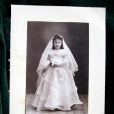 Fotografía antigua: PALMA DE MALLORCA ESTUDIO GUARDIA. Lote 40255080