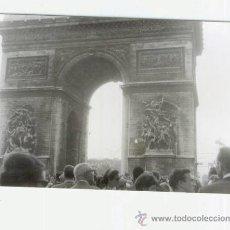 Fotografía antigua: ARCO DEL TRIUNFO ( PARIS) - DEDICADO A NAPOLEÓN, BATALLA DE AUSTERLITZ. Lote 40539833