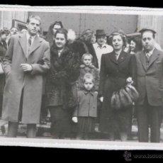 Fotografía antigua: FOTO FAMILIAR AÑOS 60 - FOTOGRAFO TORRES - BARCELONA. Lote 40692086
