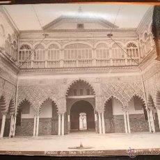 Fotografía antigua: PATIO DE LAS DONCELLAS -ALCAZAR DE SEVILLA-. Lote 144632254