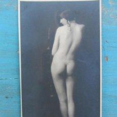 Fotografía antigua: FOTOGRAFIA EROTICA DESNUDO DE S'ORA - MADAME DORA KALLMUS - ARTHUR BENDA WIEN - VIENA - AÑOS 20 -30 . Lote 40848588