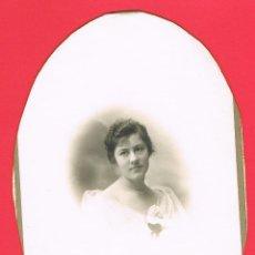 Fotografía antigua: FOTOGRAFIA SEÑORITA DE LA BURGUESIA. MIDE 18 X 12 C.M. VER FOTO. Lote 157135602