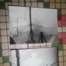 Old photograph - fallas FUEGOS ARTIFICIALES PIROTECNIA valencia AyuntamieNTO fotos antiguas 1960 originales - 41017275