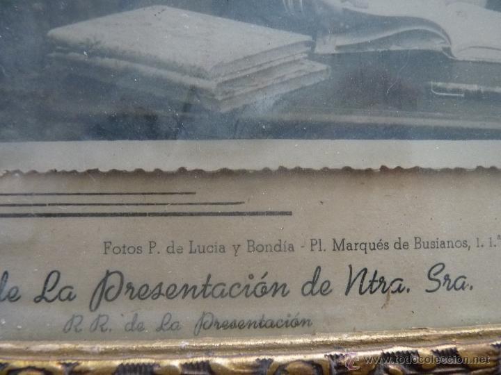 Fotografía antigua: BONITA FOTO DE COLEGIO AÑOS 50 LA PRESENTACIÓN, MÁLAGA - Foto 3 - 41073032
