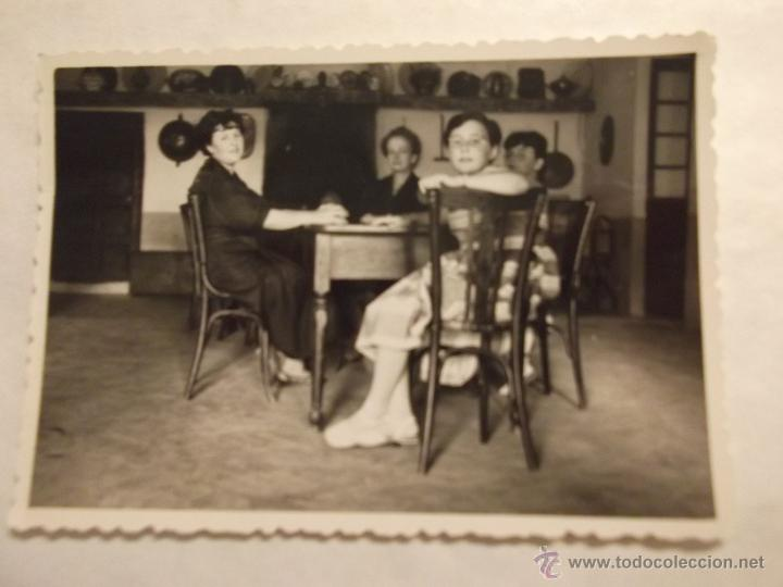 Bonita foto antigua en blanco y negro familia comprar - El comedor de familia ...