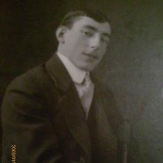 Fotografía antigua: RETRATO CABALLERO - C. 1920. Lote 42250191