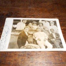 Fotografía antigua: JUAN BELMONTE, BIENVENIDA, FORTUNA Y CHIQUITO DE BEGOÑA. Lote 42386990
