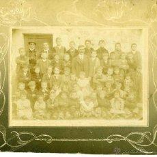 Fotografía antigua: FOTOGRAFIA VALLADOLID COLEGIO ALREDEDOR 1900. Lote 42464995