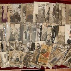 Fotografía antigua: LOTE DE 86 ANTIGUAS FOTOGRAFIAS DE PRINCIPIOS DE SIGLO XX. TEMA TAURINO. Lote 42468797