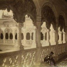 Fotografía antigua: FOTOGRAFIA VALLADOLID SAN GREGORIO LEVY 1888. Lote 42512597