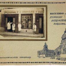 Fotografía antigua: RECUERDO EXPOSICIÓN INTERNACIONAL BARCELONA 1929 - PALACIO ARTES INDUSTRIALES - . Lote 42608619