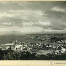 Fotografía antigua: FOTOGRAFIA LUANCO ASTURIAS VISTA GENERAL. Lote 42684332