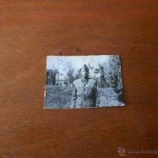 Fotografía antigua: ANTIGUA FOTOGRAFÍA DE UN JOVEN MILITAR. Lote 42720863