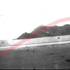 Fotografía antigua: SAN SEBASTIAN. ANTIGUO NEGATIVO ORIGINAL. TAMAÑO 6 X 10 CM. Lote 42885776