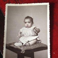 Fotografía antigua: RETRATOS ALCAIDE ALGEMESI 1947. Lote 42970499