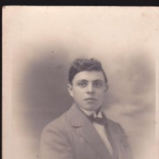 Fotografía antigua: FOTOGRAFIA DE UN CHICO JOVEN AÑO 1920 APROX. Lote 43065759