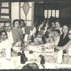 Fotografía antigua: BANQUETE (FOTO: JULIO ESPI - VALENCIA). Lote 43231263