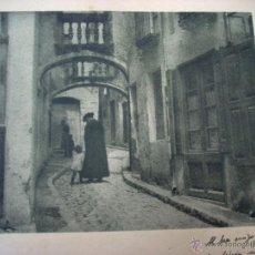 Fotografía antigua: JOAQUIM PLA JANINI - 1935 - BROMOLEO - FIRMADO Y DEDICADO. Lote 43234623
