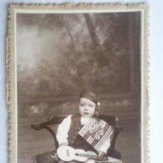 Fotografía antigua: ANTIGUA FOTOGRAFIA DEL ESTUDIO KRIPTOM, MADRID, MEDIDAS 10 X 15 CM. Lote 43516761