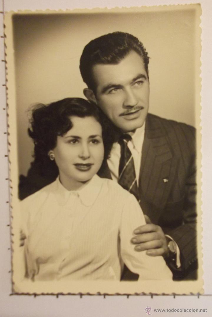 Antigua foto en blanco y negro retrato de par comprar - Fotos de parejas en blanco y negro ...