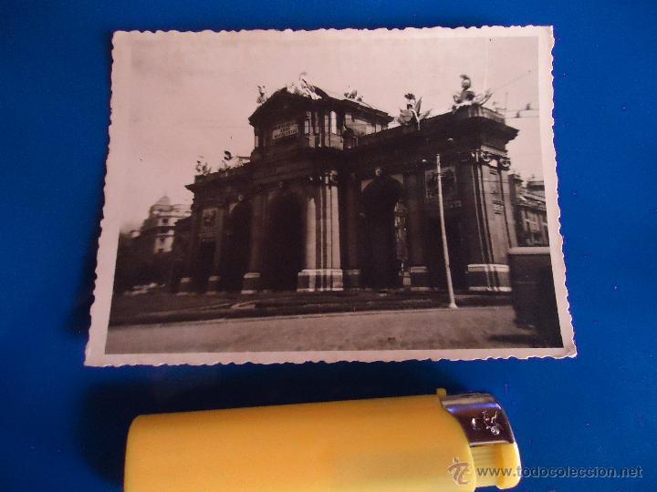 ANTIGUA FOTOGRAFIA ALBUNICA EDIFICIO MONUMENTO (Fotografía - Artística)