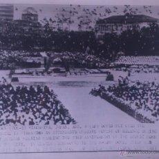 Fotografía antigua: FOTOGRAFÍA ORIGINAL AGENCIA EUROPA PRESS - 23 ANIVERSARIO DE HIROSHIMA - 1968. Lote 44013828