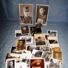 Fotografía antigua: MILITARES NAZIS · EXCEPCIONAL LOTE DE 30 FOTOGRAFIAS ORIGINALES.. Lote 44141109
