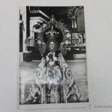 Fotografía antigua: FOTO NUESTRA SEÑORA DE BELEN CORONADA, PATRONA DE ALMANSA. Lote 47888576