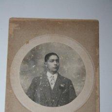 Fotografía antigua: ANTIGUA FOTO RETRATO 1919. Lote 44712884