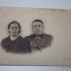 Fotografía antigua: ANTIGUA FOTO-POSTAL MILITAR CEUTA 1939. Lote 44712929