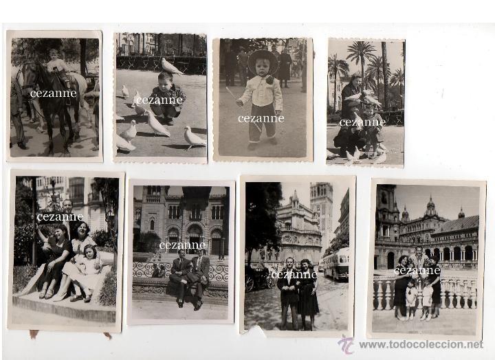 16 FOTOS. ENTRAÑABLES IMÁGENES DE LA SEVILLA DE LOS AÑOS 50 (Fotografía - Artística)