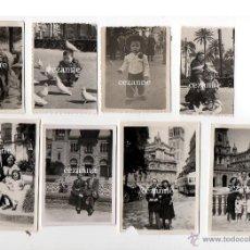 Fotografía antigua: 16 FOTOS. ENTRAÑABLES IMÁGENES DE LA SEVILLA DE LOS AÑOS 50. Lote 44826935