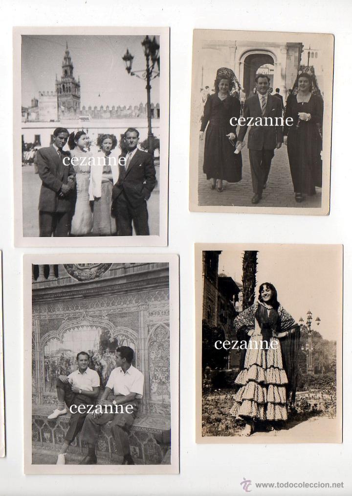 Fotografía antigua: 16 FOTOS. ENTRAÑABLES IMÁGENES DE LA SEVILLA DE LOS AÑOS 50 - Foto 2 - 44826935