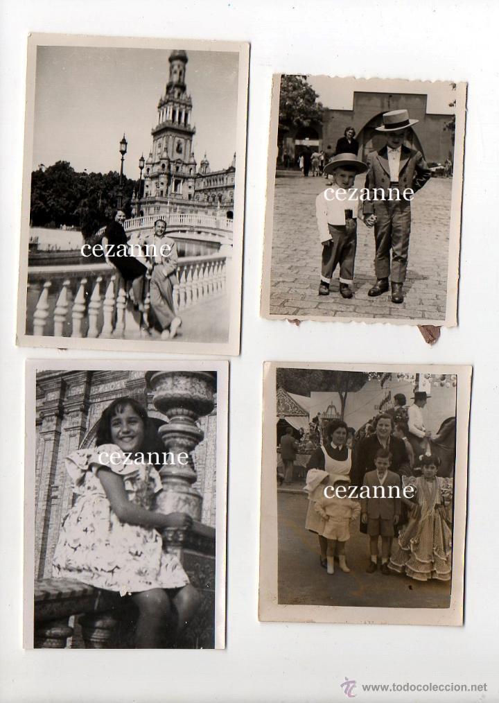 Fotografía antigua: 16 FOTOS. ENTRAÑABLES IMÁGENES DE LA SEVILLA DE LOS AÑOS 50 - Foto 3 - 44826935