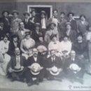 Fotografía antigua: FOTOGRAFIA DE COMPAÑIA TEATRAL 1920. Lote 44878030
