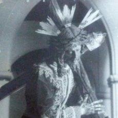 Fotografía antigua: SEMANA SANTA DE SEVILLA ANTIGUA FOTOGRAFIA DE JESUS DEL GRAN PODER FOTO SERRANO. Lote 45238592
