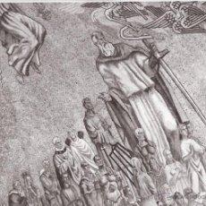 Fotografía antigua: 3 FOTOS DEL MOSAICO DE LA CÚPULA DE LA BASÍLICA DEL VALLE DE LOS CAÍDOS - AÑOS 50 - PERFECTO ESTADO. Lote 45267874