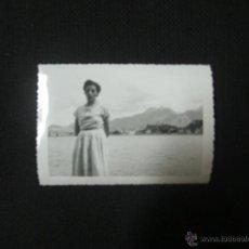 Fotografía antigua: RIBADESELLA-ASTURIAS-1956. Lote 45324504