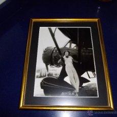 Fotografía antigua: RARISIMA FOTOGRAFIA IRVING LIPPMAN ORIGINAL AÑOS 30 ACTRIZ AVIADORA RUTH CHATTERTON IMPECABLE. Lote 45340319
