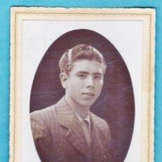 Old photograph - tarjeta postal / fotografia - ++ ¿la reconoce? ++ - joven - fot. molins / sabadell - años 40 (?) - 45634565