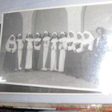 Fotografía antigua: ANTIGUA FOTO POSTAL DE MONJAS DE ALICANTE LOTE DE DOS CALLE TRAFALGAR. Lote 46034553