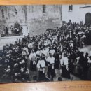 Fotografía antigua: ANTIGUA FOTOGRAFIA DE ENTIERRO DE ARZOBISPO CATALAN, ARQUEBISBE, PRINCIPIOS S.XX. Lote 46256211