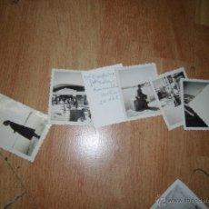Fotografía antigua: PLAYA ALGECIRAS LOTE DE 6 FOTOS FOTOGRAFIAS ANTIGUAS AÑOS 40 . Lote 46348723