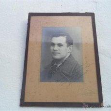Fotografía antigua: FOTOGRACIA EN MARCADA AÑO 1937. Lote 46411901