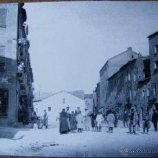 Fotografía antigua: FOTOGRAFIA DE CERVERA , MIDE 30 X 21 CM.. Lote 46478433