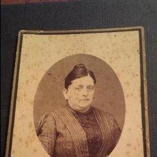 Fotografía antigua: ANTIGUA FOTOGRAFIA S. XIX DEDICATORIA MANUSCRITA AGUILAS MURCIA 1889. Lote 46582521